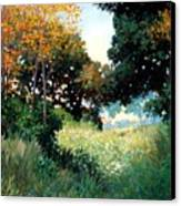 Meadow Canvas Print by Kevin Lawrence Leveque