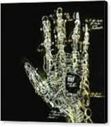 Mechanical Hand Canvas Print