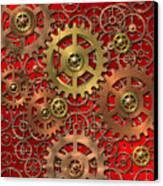 Mechanism Canvas Print by Michal Boubin