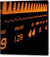 Medical Monitor Displaying Respiratory Canvas Print by Greg Dale