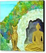 Meditation At Dawn Canvas Print