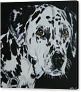 Meet Annie Canvas Print by Betty-Anne McDonald
