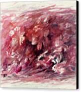 Melancholic Moment Canvas Print