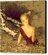 Mellissa At Sunset Canvas Print