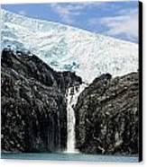 Meltwater From The Northland Glacier Canvas Print by Ray Bulson