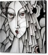 Memoirs Of A Geisha Canvas Print by Simona  Mereu