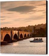 Memorial Bridge II Canvas Print by Steven Ainsworth