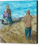 Memories Of Ocean Shores Canvas Print