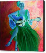 Memphis Minnie Canvas Print
