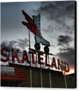 Memphis - Skateland 001 Canvas Print by Lance Vaughn