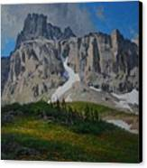 Mendota Peak Canvas Print