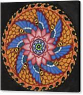 Merkaba Canvas Print by Galina Bachmanova