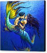 Mermaid Kiss Canvas Print