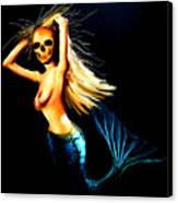 Mermaid Witch Canvas Print