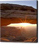 Mesa Arch Panorama Canvas Print by Andrew Soundarajan