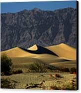 Mesquite Flat Dunes - Death Valley California Canvas Print