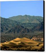Mesquite Flat Sand Dunes - Death Valley National Park Ca Usa Canvas Print by Christine Till