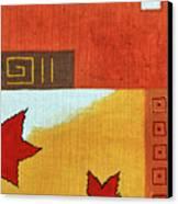Metaleaf 2 Canvas Print