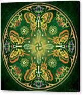 Metamorphosis Mandala Canvas Print by Cristina McAllister