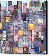 Metropolis 3 Canvas Print