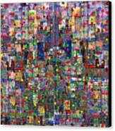 Metropolis Ix  Canvas Print