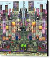 Metropolis Vi Canvas Print