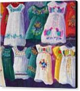 Mexican Dresses Canvas Print