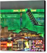 Mgm Grand Las Vegas Canvas Print by Nicholas  Grunas
