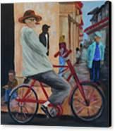 Mi Bicicleta Canvas Print