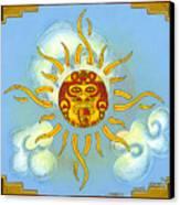 Mi Sol Canvas Print by Roberto Valdes Sanchez