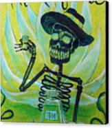 Mi Tequila Canvas Print by Heather Calderon