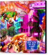 Miami Deco Canvas Print by Marilyn Sholin