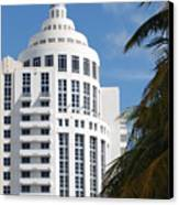 Miami S Capitol Building Canvas Print