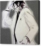 Michael Jackson - Smooth Criminal In Tii Canvas Print