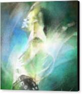 Michael Jackson 15 Canvas Print by Miki De Goodaboom