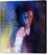 Michael Jackson 16 Canvas Print by Miki De Goodaboom
