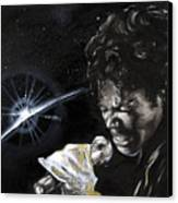 Michael Jackson Canvas Print by Keith  Thurman