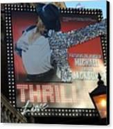 Michael Jackson Musical Canvas Print