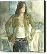 Michael Jackson One More Chance Screenshot Canvas Print