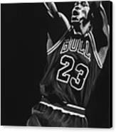 Michael Jordan Canvas Print by Don Medina
