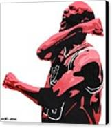 Michael Jordan Canvas Print by Michael Ringwalt