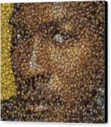 Michael Jordan Money Mosaic Canvas Print