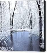 Michgan Winter 10 Canvas Print