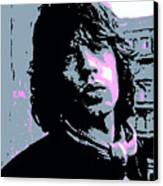 Mick Jagger In London Canvas Print