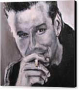 Mickey Rourke Canvas Print
