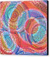 Microcosm Viii Canvas Print