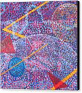 Microcosm Xv Canvas Print
