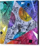 Microcosm Xx Canvas Print