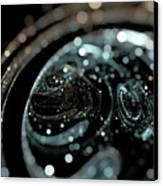 Microscopic IIi - Opale Canvas Print by Sandra Hoefer