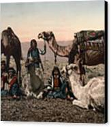 Middle East: Travelers Canvas Print